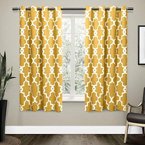 Exclusive home ironwork rasatello oscurante. finestra tenda coppia, prendisole giallo, pezzi