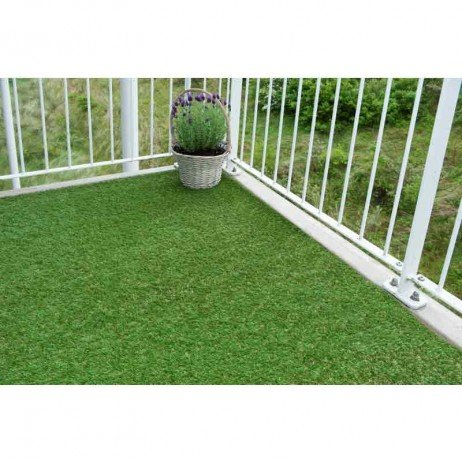 Nature Tapis Pelouse artificielle Gazon synthétique 1 x 2 m Verte 6030571
