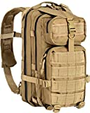 DEFCON Tan 35 Ltrs Fabric Military Tactical Backpack