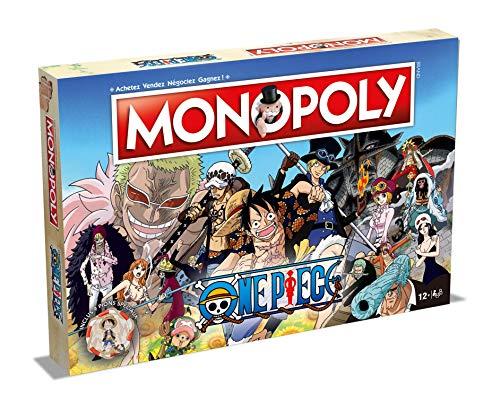 Winning Moves- Monopoly One Piece, 0968, versión Francesa