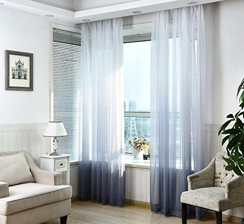 TINE HOME CURTAINS Decorazione di Nozze Moderna Tulle Tende Camera ...