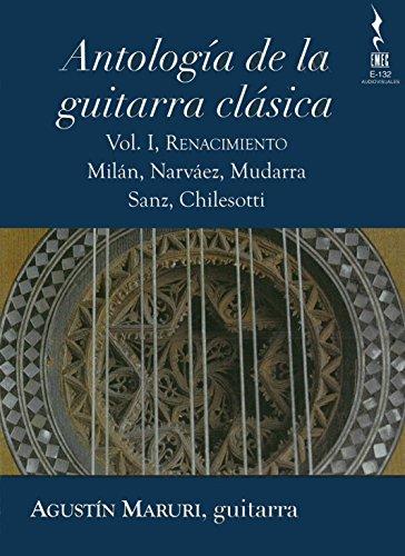 Preisvergleich Produktbild Antolog¡a de la guitarra clsica-Vol.1, Renacim [Blu-ray]
