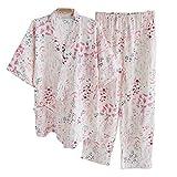 Kimono-Pyjama-Anzug-Blume der Frauen im japanischen Art-Abendkleid-Blume