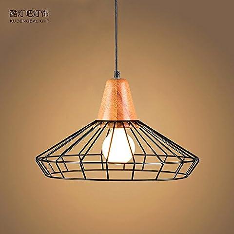 XIAOMINZI Lampada Nordic Singolo Capo Americano Stile Retrò Ristorante Lampada Moderna Creative Cemento Ciondolo Lampada Industria Personalità Bar