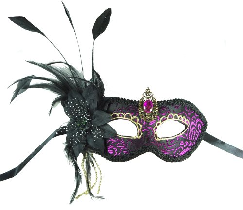 ILAVO® Ballmaske - venezianischer Stil - Party - Club Maske (Venezianische Club)