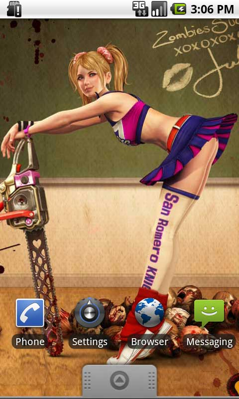 Lollipop Chainsaw Live Wallpapers Amazoncouk Appstore For Android