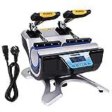 Best machine de presse de chaleur - Zerone Presse à Chaud Transfert 5 en 1 Review