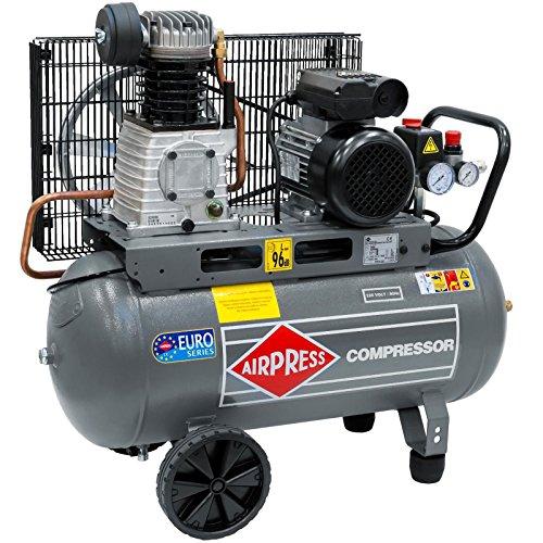 Airpress® Druckluft- Kompressor HL 310-50 (1,5 kW, max. 10 bar, 50 Liter Kessel) Stromanschluss 230 V - 1 3 Ps Elektromotor