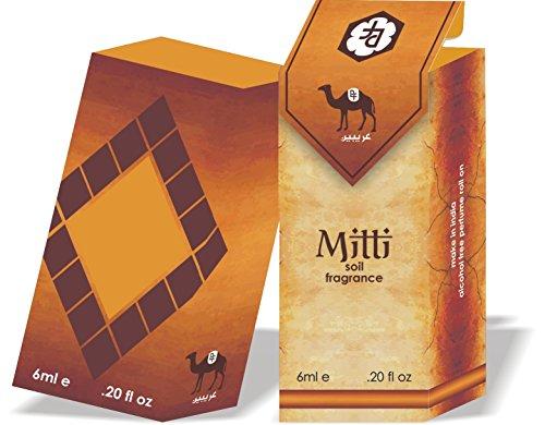 Mitti 6ml Alcohol Free Attar Real Fragrance of Rain on Earth
