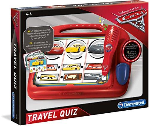 Clementoni 0619030 Cars 3 Travel Quiz Preisvergleich