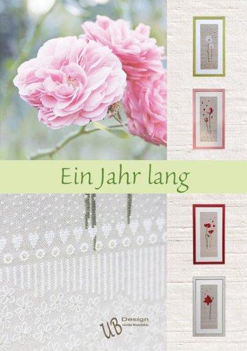 UB-Design - Kreuzstichbuch - Ein Jahr lang - Stickvorlagen Buch (ohne Material!)