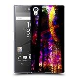 Head Case Designs Offizielle Haroulita Saturn-Blitz Raum Soft Gel Hülle für Sony Xperia Z5 Premium/Dual
