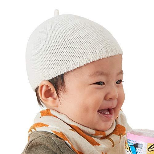 CHARM Casualbox Baby 100% Kaschmir Beanie Hut für Jungs & Mädchen Super Weich und Leicht Gewicht hoch Qualität Prämie Kopfbedeckungen Elfenbein