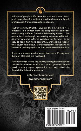 Suffer from Burnout? Give'em the F.I.N.G.E.R.!