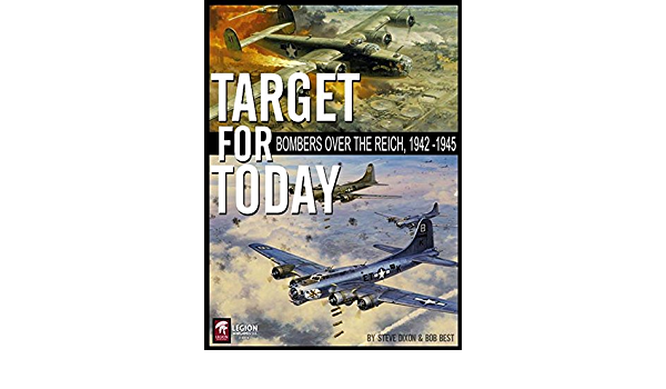 Bombers Over the Reich 1942-1945 New In SW Legion Wargames Target For Today