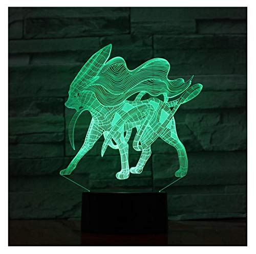 emon Spielfigur Aurora Schatztraum Nachtlicht Led Birne Multicolor Kinder Geschenk Fernbedienung ()