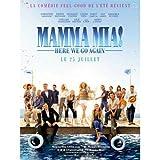 CINEMA / Mama Mia! Here we go Again - 2018 - Lily James, Amanda Seyfried - 116x156cm - Affiche Originale