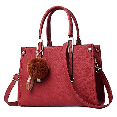 Produp 2019 Hot Fashion Casual Frauen Hairball Ornamente Tote Feste Pailletten Handtasche Geldbörse...
