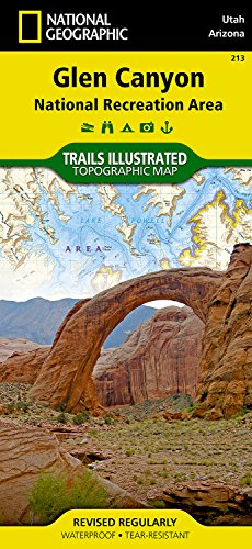 Glen Canyon National Recreation Area: Trails Illustrated National Parks (National Geographic Trails Illustrated Map) por National Geographic Maps