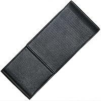 Lamy–Funda de piel negro para 3bolígrafos–Cierre magnético–fabricado en Alemania