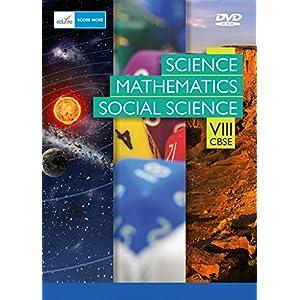 Edurite DVD for CBSE Class 8 Science, Mathematics, Social Science Combo