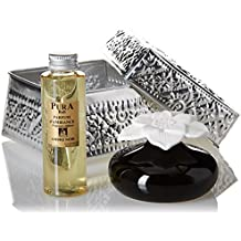Pura Bali difusor de fragancia ambiental (en estuche de aluminio/Capilaridad sobre flor ámbar negro