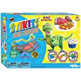 Poof Slinky Stikits 440 Piece Set With Sponge - You Can Build Are Your Imagination (Ages 3+) Jouets, Jeux, Enfant, Peu, Nourrisson