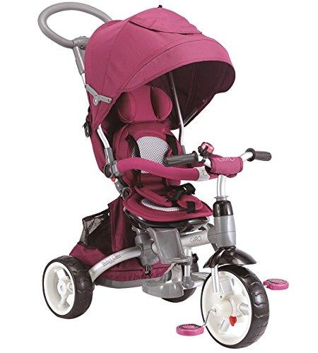 Baby 's Clan triciclo/cochecito evolutif 6en 1color morado