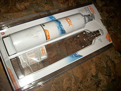 HDX FML-2 Filtro / purificador de agua de repuesto para refrigeradores LG paquete de 2
