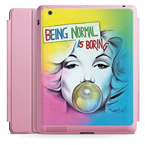 d 4 Smart Case rosa Hülle mit Ständer Schutzhülle Marilyn Monroe Star Sayings ()