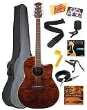 Guitares électro acoustiques OVATION CELEBRITY STANDARD PLUS CS24PNBM NUTMEG LOUPE D