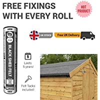 IKO Waterproofing Shed Felt - Black - 8m
