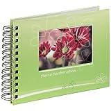 Hama Spiralalbum Konfirmation Blume grün, 24x17 cm, 40 Seiten