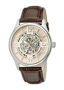 Stührling Original 992.03 - Reloj analógico para hombre, correa de cuero, color marrón de Stuhrling Original