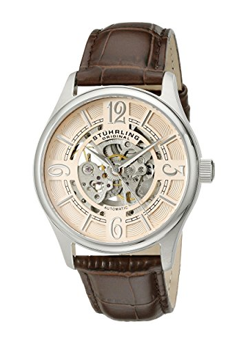 Stührling Original 992.03 - Reloj analógico para Hombre, Correa de Cuero, Color marrón