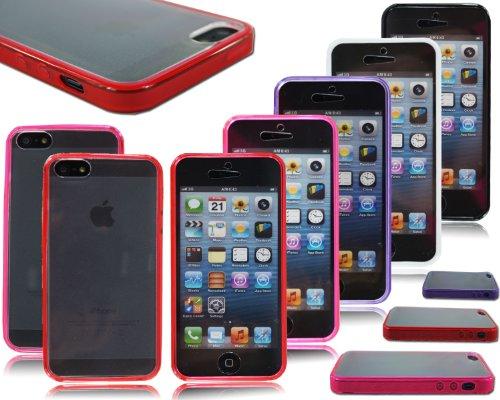 neuen, stilvollen Slim vorne Back Bumper Handy Schutzhülle für Apple I Phone 64.7 Clear / Transparent