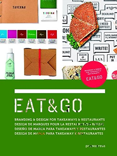 Eat & Go. Branding And Design Identity For Takeaways And Restaurants