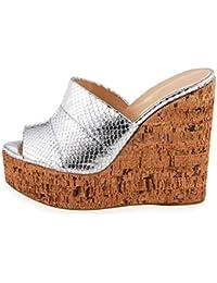 esSandalias Amazon Mujer Madera 42 De Zapatos Para lK1TJc3F