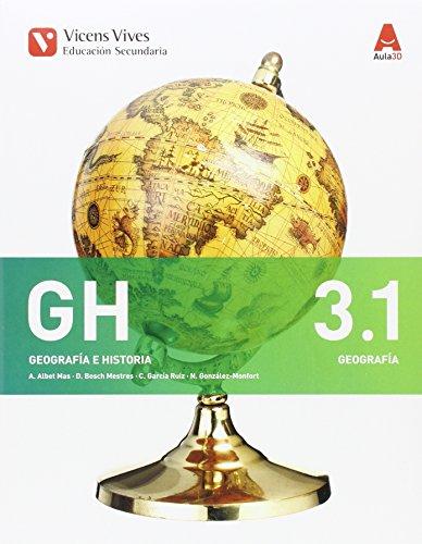 GH 3. Libro 1 y 2 Geografía. Comunitat Valenciana (Aula 3D): 000002-9788468234496