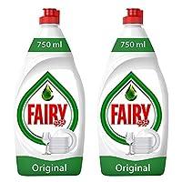 فيري أوريجينال صابون سائل تنظيف الأطباق عبوة مزدوجة 750 مل عرض خاص