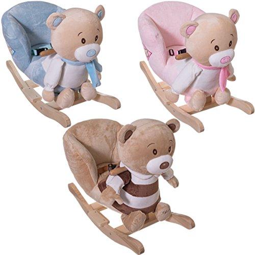 Schaukelbär / Schaukeltier BÄREN / Baby Kind Schaukel (mit Sicherheitsgurt und Kippschutz) Modell: PETRILLA