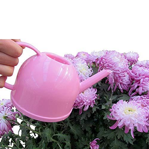 Arrosoir Pot Arrosage Bouilloire en plastique de coulée de résine Bouillette en plastique de fertilisation de longue bouche 1.2L (couleur aléatoire) pour Plantes Patio Jardins Bureau intérieur