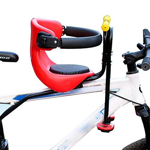 NACHEN Baby Bike Seat Bicicletas Asientos para niños Sillas Delanteras Asientos de Seguridad, Red