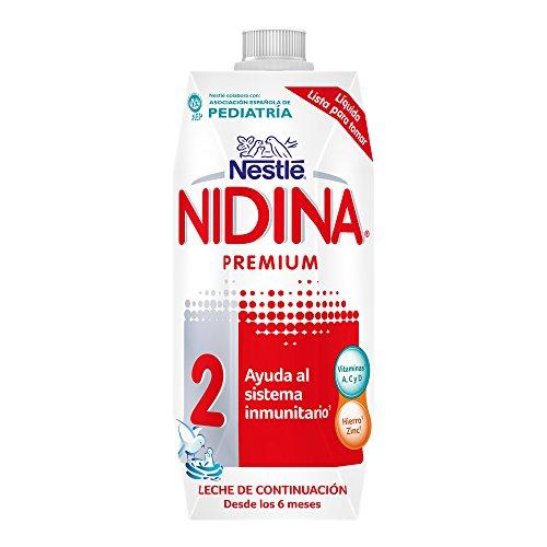 Nestlé Nidina 2 Leche de continuación - 500 ml