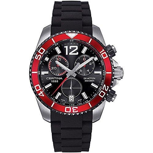 Certina Herren-Armbanduhr XL DS Action Chronograph Kautschuk C013.417.27.057.00