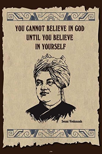 HungOver Swami Vivekanand Poster Home & Office Home & Office  available at amazon for Rs.449