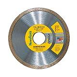 NOVOTOOLS Disco diamantato 115 mm dischi per gres porcellanato, ceramica, piastrelle, piastrelle dure, smaltata per piastrelle, pietra naturale, mattoni, duro tegole per smerigliatrice angolare