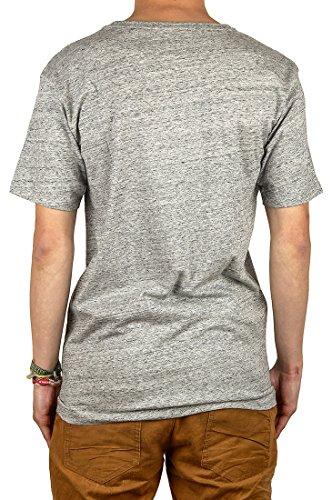 Cleptomanicx Herren T-Shirt Vintage Möwe - Vintage Black multicolour