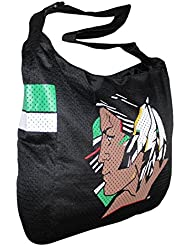 COLLECTIONNEUR ITEM: NCAA North Dakota Fighting Sioux Jersey Large Tote / Umhängetasche - noir