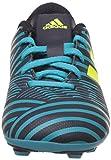 adidas Jungen Nemeziz 17.4 Fxg J Fußballschuhe, Mehrfarbig (Legend Ink /solar Yellow/energy Blue ), 36 2/3 EU - 4